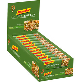 PowerBar Natural Energy Cereal Bar Box 24x40g, Sweet'n Salty
